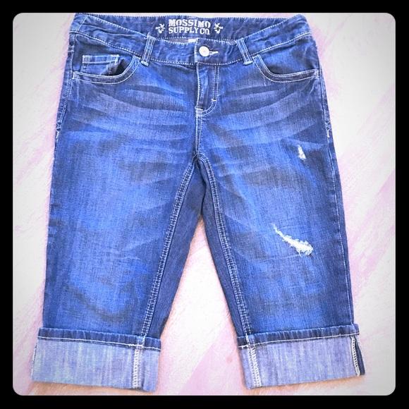 Mossimo Supply Co. Pants - Bermuda jean shorts